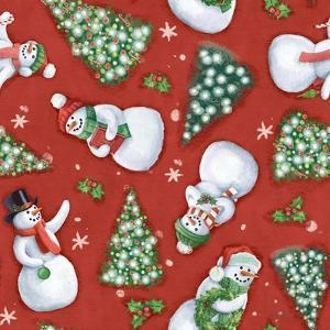 Classic Snowmen Step 01B by Mary Urban