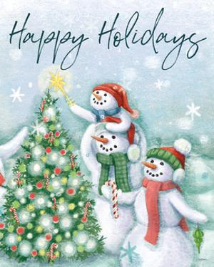 Classic Snowmen VI by Mary Urban