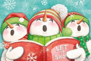 Let it Snow IV Eyes Open by Mary Urban