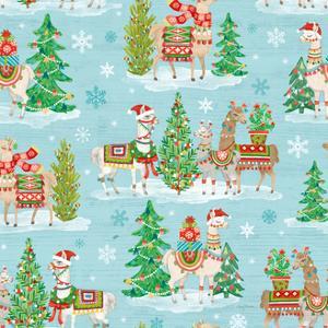 Lovely Llamas Christmas Step 07 by Mary Urban