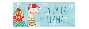 Lovely Llamas Christmas VI by Mary Urban
