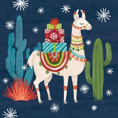 Lovely Llamas II Christmas by Mary Urban