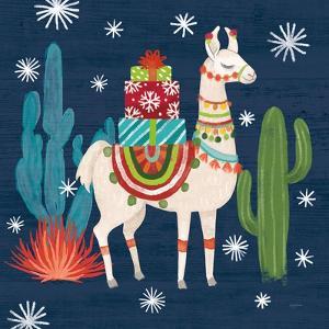 Lovely Llamas II Christmas by Mary Urban