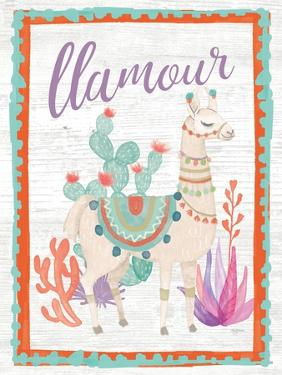 Lovely Llamas II Llamour by Mary Urban