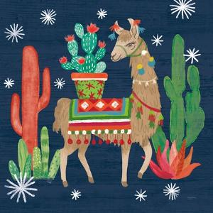 Lovely Llamas III Christmas by Mary Urban
