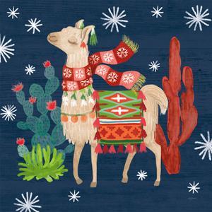 Lovely Llamas IV Christmas by Mary Urban