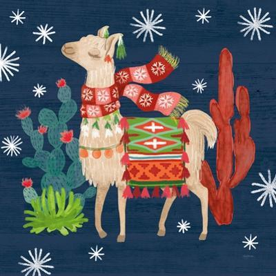 Lovely Llamas IV Christmas by Mary Urban