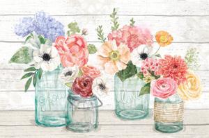 Pastel Flower Market I by Mary Urban