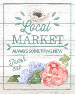 Pastel Flower Market V by Mary Urban