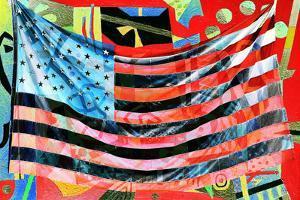 American Flag by Mary Woodman