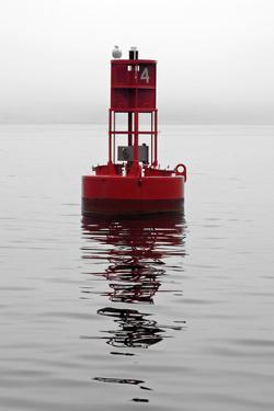 Red Buoy by Mary Woodman