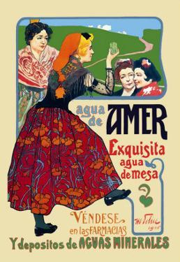 Agua de Amer: Exquisita Agua de Mesa by Mary Wright Jones