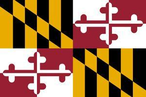 Maryland State Flag Poster Print
