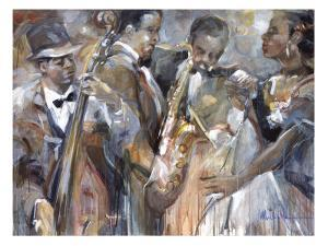 All About Jazz II by Marysia