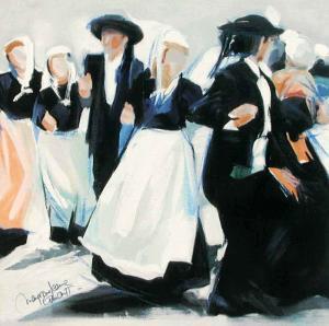 Danse Rue St-Thomas by Maryvonne Jeanne-Garrault