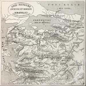 Old Map Of Anatolia by marzolino