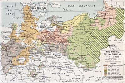 Prussia Historical Development Map by marzolino