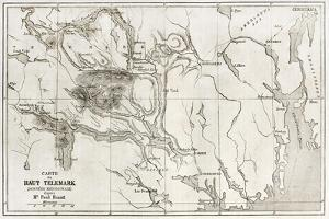 Telemark Old Map, Norway by marzolino