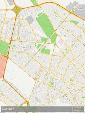 Mashhad, Iran, Islamic Republic of Map