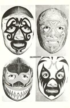 Masks of Mexican Wrestlers