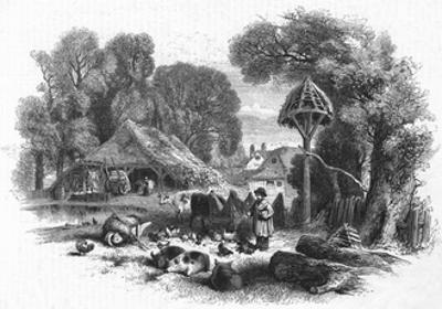 Farmyard Scene, C. 1860