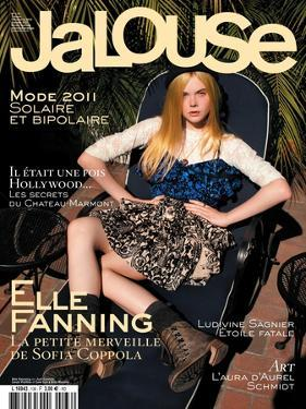 Jalouse, December 2010-January 2011 - Elle Fanning by Mason Poole