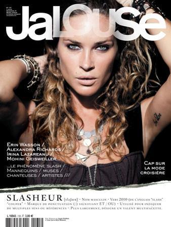 Jalouse, November 2010 - Erin Wasson by Mason Poole