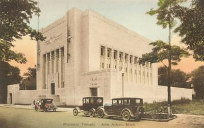 Masonic Temple, Ann Arbor, Michigan