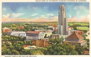 Masonic Temple, Cathedral of Learning, Pittsburgh, Pennsylvania