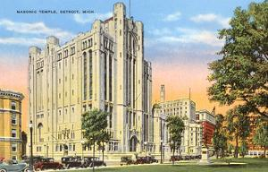 Masonic Temple, Detroit, Michigan