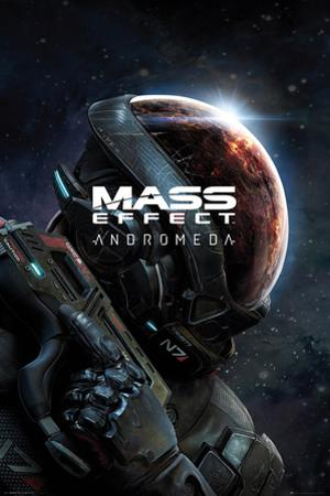 Mass Effect: Andromeda- Ryder Key Art