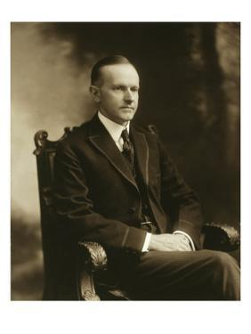 Massachusetts Governor Calvin Coolidge, Would Become the President in 1923, 1919
