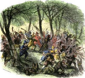 Massacre of Mohawks by New Netherland Governor Kieft, c.1640