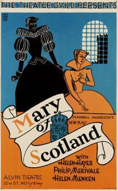 Massaguer, Mary of Scotland, c.1933