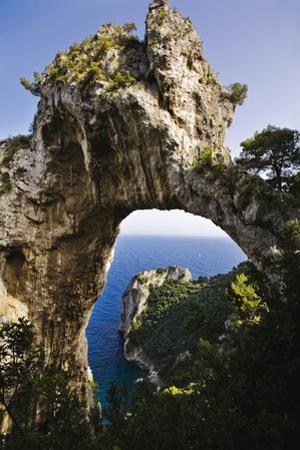 Arco Naturale, Capri, Capri Island, Campania, Italy by Massimo Borchi