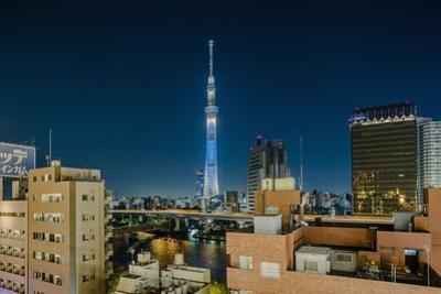 Asakusa, the Town and the Tokyo Sky Tree by Massimo Borchi