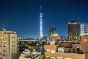 Asakusa, the Town and the Tokyo Sky Tree by Massimo Borchi