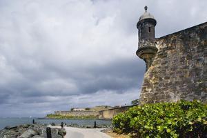 City Walls of Old San Juan by Massimo Borchi