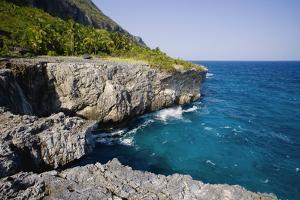 Coast of Samana Peninsula near Puerto El Fronton by Massimo Borchi