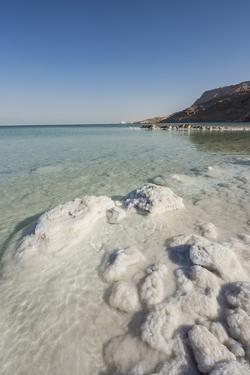 Dead Sea - Salt Deposits by Massimo Borchi