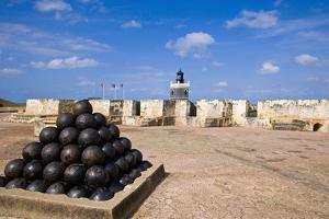 El Morro Fort by Massimo Borchi
