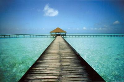 Jetty Maldives by Massimo Borchi