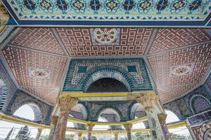 Old City, Temple Mount, Detail of the Dome of the Chain by Massimo Borchi