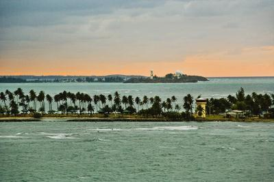 Sra and Old San Juan in Distance, Puerto Rico