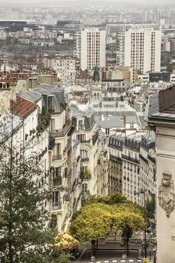The Northern Part of the Town from Montmartre Hill by Massimo Borchi