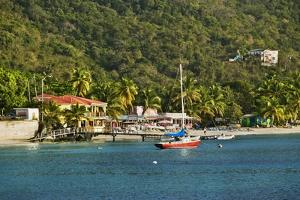 View of Bay, Cane Garden Bay, Tortola Island, British Virgin Islands by Massimo Borchi