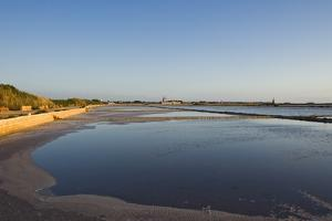 View of Saltworks, Marsala, Sicily, Italy by Massimo Borchi