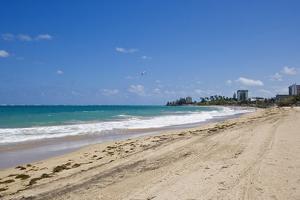 View of San Juan and Ocean, Puerto Rico by Massimo Borchi