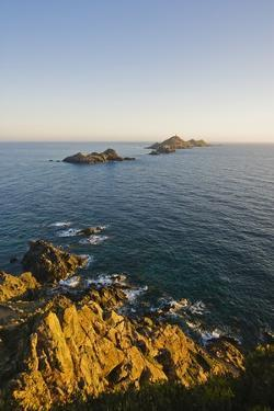 View of Sanguinaires Islands from Parata Point, Ajaccio, Corsica, France by Massimo Borchi