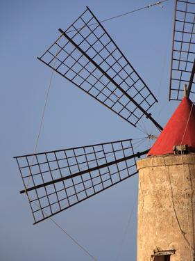 Detail of a Windmill in Trapani by Massimo Pizzotti